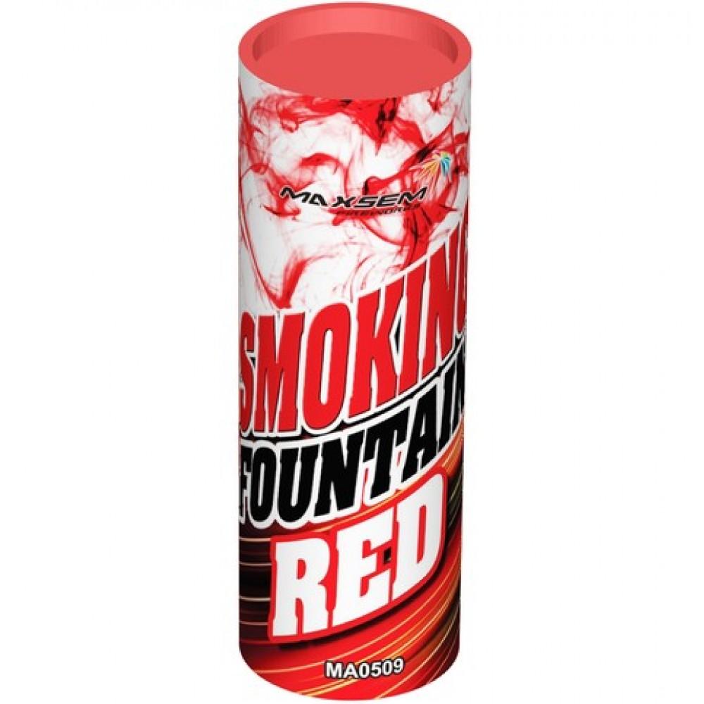 Цветной дым красного цвета (Maxsem 45 сек.)