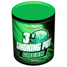 Цветной дым зелёный цвет (POT) Maxsem