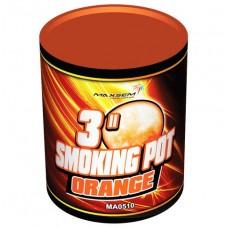 Цветной дым оранжевый цвет (POT) Maxsem