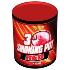 Цветной дым красный цвет (POT) Maxsem
