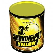 Цветной дым желтый цвет (POT) Maxsem