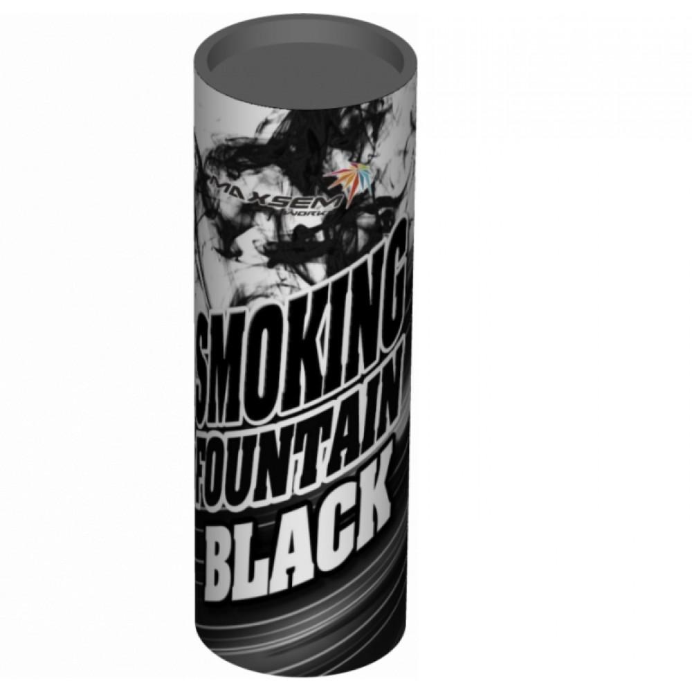 Цветной дым чёрного цвета (Maxsem 45 сек.)