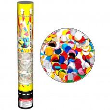 Пневмохлопушка 30 см (Цветные круги)