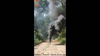 Цветной дым черный SMOKING MA0509 BLACK