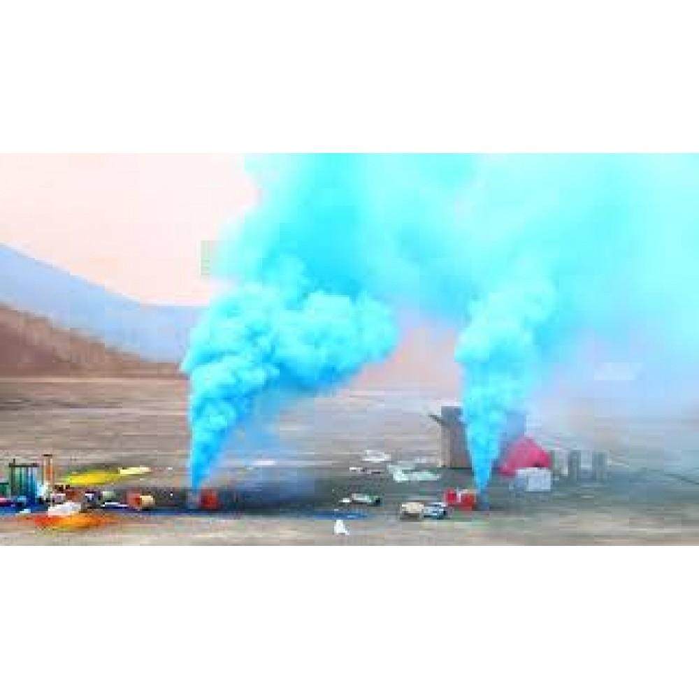 Цветной дым синий цвет (POT) Maxsem