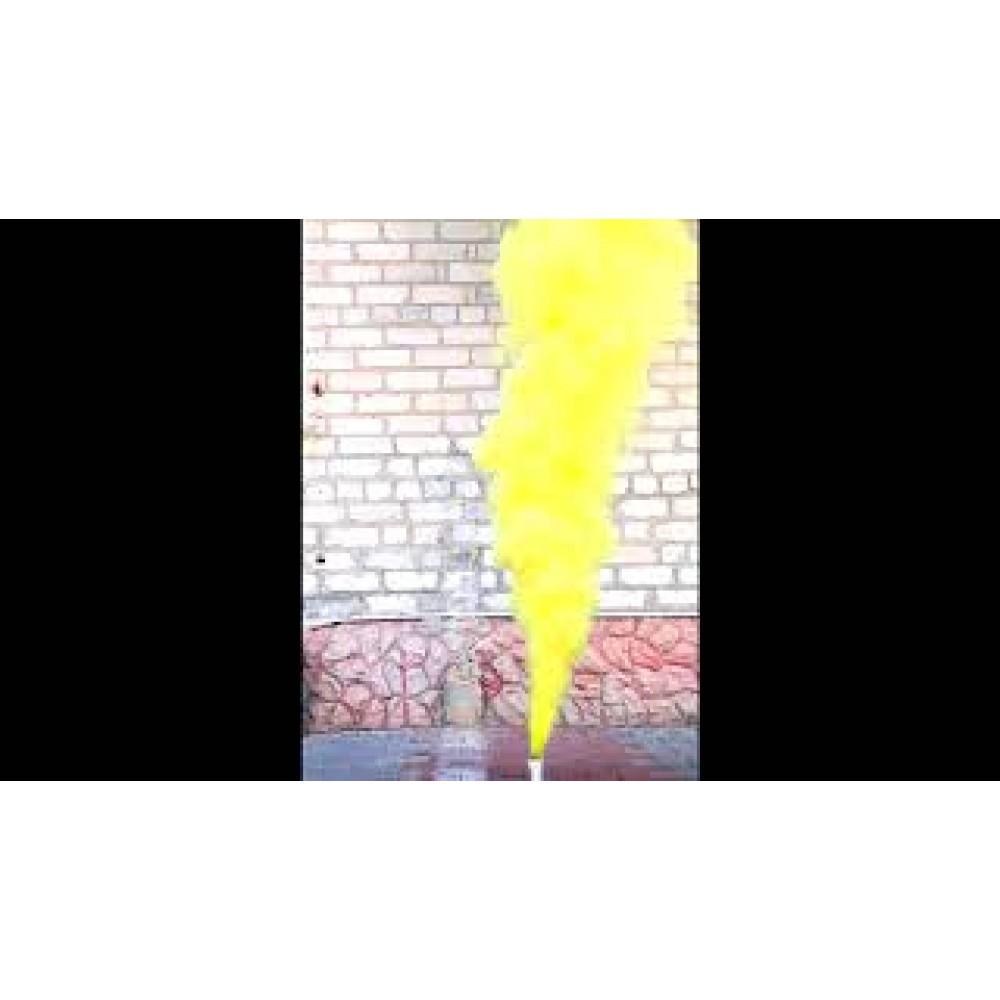 Цветной дым желтого цвета (Maxsem 45 сек.)